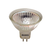 Bulbrite 65W 12V Halogen, MR16 Bi-Pin Lensed, Narrow Spot FPA