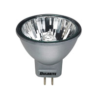 Bulbrite 20W 12V Halogen, MR11 Bi-Pin, Silver FTD/SLV