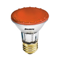 Bulbrite H50PAR20A-4PK Pars Colors Halogen PAR20 E26 50 watt 120V 2900K Bulb Pack of 4