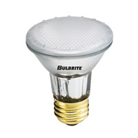 Bulbrite H50PAR20FR2 Halogen Dimmable Halogen PAR20 E26 50 watt 120V 2700K Bulb in Flood photo thumbnail