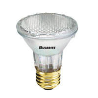 Halogen Dimmable Halogen PAR20 E26 50 watt 130V 2700K Bulb in Narrow Flood