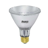 Bulbrite H60PAR30NF/L/ECO/2PK Halogen Dimmable Halogen PAR30 E26 60 watt 120V 3000K Bulb in Narrow Flood photo thumbnail