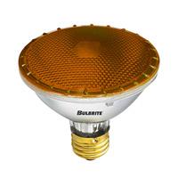 Bulbrite 75W Halogen PAR30, Amber 120V H75PAR30A