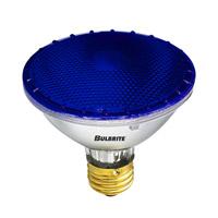 Bulbrite 75W Halogen PAR30, Blue 120V H75PAR30B