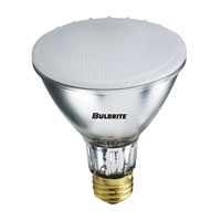 Bulbrite H75PAR30FR2/L Halogen Dimmable Halogen PAR30 E26 75 watt 120V 2800K Bulb in Flood  photo thumbnail