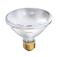 Halogen Dimmable Halogen PAR30 E26 75 watt 120V 3000K Bulb in Narrow Flood