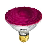 Bulbrite 75W Halogen PAR30, Pink 120V H75PAR30P