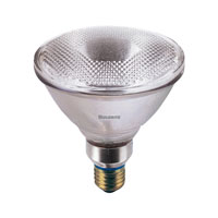 Bulbrite 90W Halogen PAR38, Flood 130V H90PAR38FL3 photo thumbnail