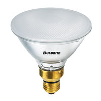 Bulbrite 90W 120V Frosted Halogen, PAR38 H90PAR38FR2 photo thumbnail