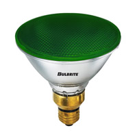 Bulbrite H90PAR38G PARs Halogen PAR38 E26 90 watt 120V 2800K Bulb in Green photo thumbnail