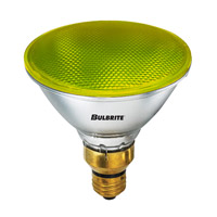 Bulbrite 90W Halogen PAR38, Yellow 120V H90PAR38Y