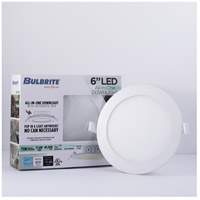 Bulbrite LED11JBOXDL/6/827/WHRD/D LED All-In-One LED White Recessed Downlight, 6in with J-Box alternative photo thumbnail