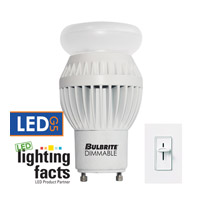 Bulbrite LED Dimmable 12W GU24 Light Bulb in Warm White LED12A19GU24/27K/D