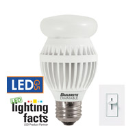 Bulbrite 12-Watt Dimmable LED A19, Medium Base, Warm White LED12A19/O/27K/D