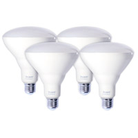 Bulbrite LED12BR40/830-4PK Reflectors Value Pack LED BR40 E26 12 watt 120V 3000K Bulb Pack of 4
