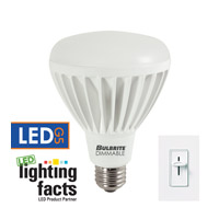 Bulbrite LED Dimmable 14W E26 Light Bulb in Soft White LED14BR30/30K/D