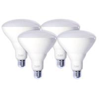 Bulbrite LED15BR40/830/D-4PK Reflectors Dimmable LED BR40 E26 15.50 watt 120 3000K Bulb