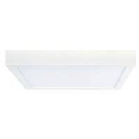Bulbrite LED20DL/9/940/WHSQ/J/D Ceiling Light LED 9 inch White Flush Mount