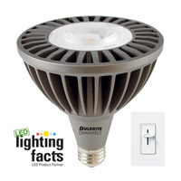 Bulbrite 20W Dimmable LED PAR 38, Warm White, Flood LED20PAR38WW/FL/D photo thumbnail