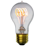 Bulbrite Antique Filaments Curved Light Bulbs