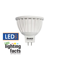 Bulbrite LED Non-dimmable 6W GU5.3 Light Bulb in Soft White LED6MR16FL/30K