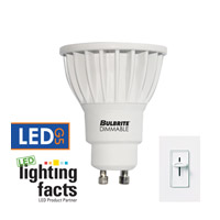 Bulbrite 6-Watt Dimmable LED MR16, GU10 Base, 3000K (Soft White) LED6MR16GU/30K/D