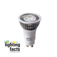 Bulbrite 6W 120V LED Turbo MR16 GU10 Flood, Warm White LED6MR16GU/WW