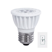 Bulbrite LED6MR16SW/D/E26 MRs LED MR16 E26 6 watt 120V 3000K Light Bulb  photo thumbnail