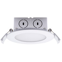Bulbrite LED8JBOXDL/4/827/WHRD/D LED All-In-One LED White Recessed Downlight, 4in with J-Box photo thumbnail