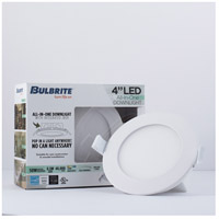 Bulbrite LED8JBOXDL/4/827/WHRD/D LED All-In-One LED White Recessed Downlight, 4in with J-Box alternative photo thumbnail