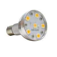 Bulbrite 2.6W LED 1383 Elevator Light, BA15S, Warm White LED/1383/WW