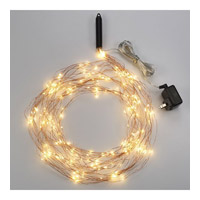 Bulbrite Starry Lights Multi-Strand Plug-In Base LED Outdoor String Light in Copper LED/STAR/COP/M/27K