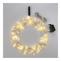Bulbrite Starry Lights Multi-Strand Plug-In Base LED Outdoor String Light in Silver LED/STAR/SIL/M/27K