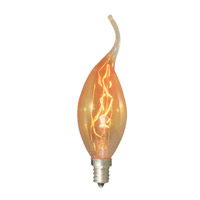 Bulbrite NOS15CFA Nostalgic Incandescent CA11 E12 15 watt 120V 2200K Bulb photo thumbnail