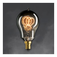 Bulbrite NOS25A15/LP/E12/SMK Nostalgic Incandescent A15 E12 25 watt 120V 1800K Light Bulb in Smoke, E26, Loop alternative photo thumbnail