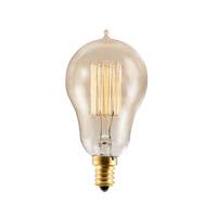 Bulbrite NOS25A15/SQ/E12-4PK Nostalgic Incandescent A15 E12 25 watt 120V 2200K Bulb Pack of 4
