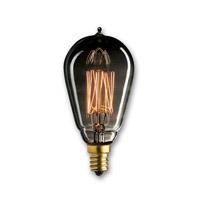 Bulbrite Incandescent Dimmable 25W E12 Light Bulb in Smoke NOS25ST15/SQ/E12/SMK