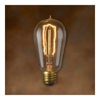 Bulbrite NOS40-1890-4PK Nostalgic Incandescent ST18 E26 40 watt 120V 2200K Bulb Pack of 4