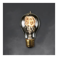 Nostalgic Incandescent A19 E26 40 watt 120V 2000K Bulb in Smoke