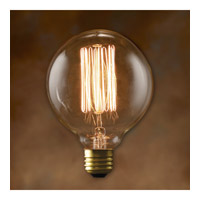 Bulbrite NOS40G30-4PK Nostalgic Incandescent G30 E26 40 watt 120V 2200K Bulb Pack of 4