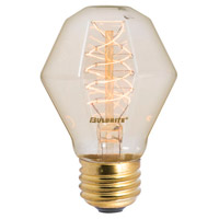 Bulbrite NOS40-GEM-4PK Nostalgic Incandescent GEM E26 40 watt 120V 2200K Bulb, Pack of 4 photo thumbnail
