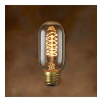 Bulbrite 40W Antique Bulb, Edison Torch Spiral Filament NOS40T14
