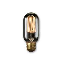 Bulbrite Incandescent Dimmable 40W E26 Light Bulb in Smoke NOS40T14/SQ/SMK