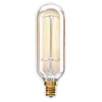 Bulbrite NOS40T8/E12-4PK Nostalgic Incandescent T8 E12 40 watt 120V 2200K Bulb Pack of 4