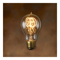 Bulbrite 60-Watt Incandescent Nostalgic Victor Loop A19, Medium Base, Antique NOS60-VICTOR