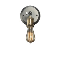 Bulbrite NOS/SCON/BARE-PW Nostalgic 1 Light 6 inch Pewter Wall Sconce Wall Light in Bare  photo thumbnail