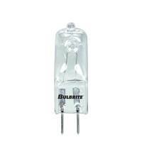 Bulbrite Q50GY6/120-10PK Jc Bi-pin Halogen T4 G6.35 50 watt 120V 2900K Bulb Pack of 10