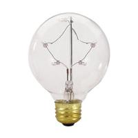 Bulbrite ST-G25-6PK Starlight Incandescent G25 E26 5.00 watt 130 2700K Bulb Pack of 6