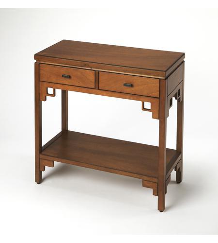 Tremendous Honshu Caramel 32 X 14 Inch Butler Loft Console Sofa Table Inzonedesignstudio Interior Chair Design Inzonedesignstudiocom
