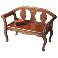 Artists' Originals Hawthorne  Tobacco Leaf Bench